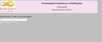Numerologisches Auswertungsprogramm im 12er System